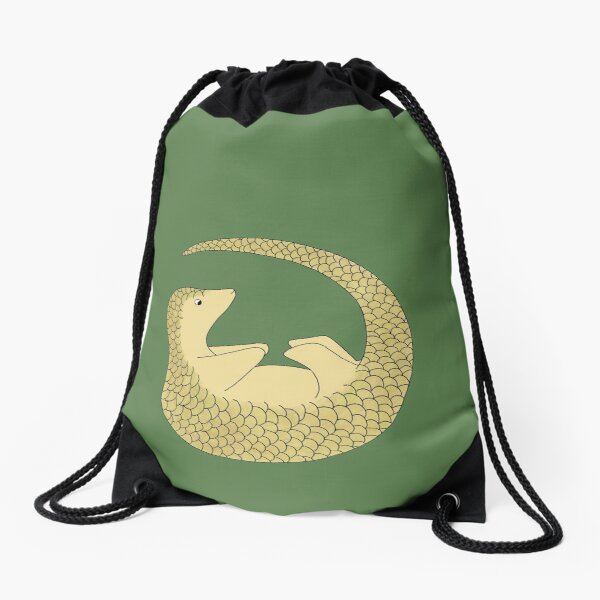 Pipisin Pangolin Drawstring Bag