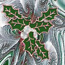 Seasons Greetings 2 - Greeting Card  by Lynda K Cole-Smith