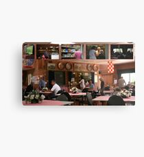 """My """"gig"""", in FrenchsForest- the Neerlandia Club.  Metal Print"""