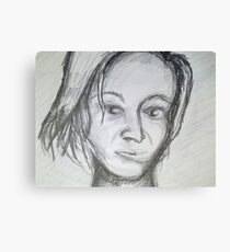 young model Canvas Print