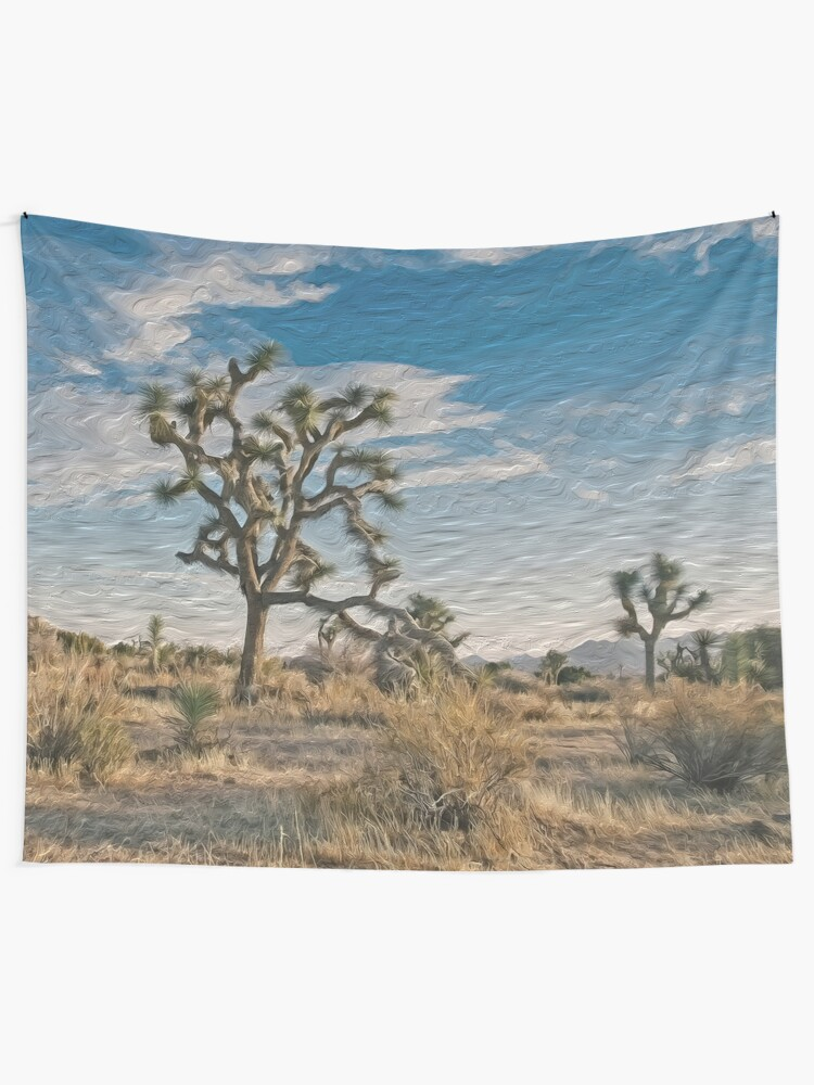 Digital Art Composition Of Joshua Tree Mojave Desert California