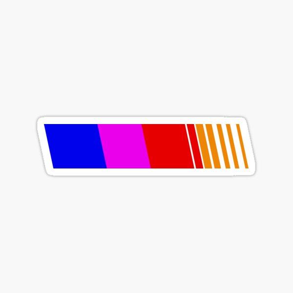 Frank Ocean Blond Nascar Stripe  Sticker