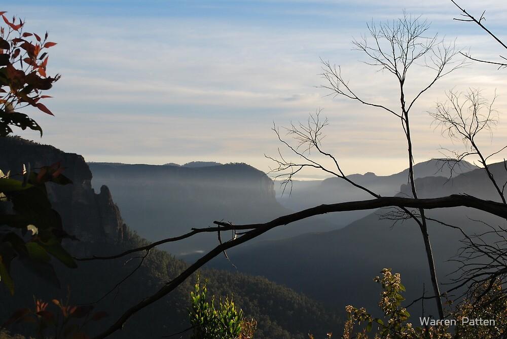 The Grose Valley...21-11-10. 6.30am. by Warren  Patten
