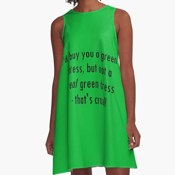 Green Dress lyric