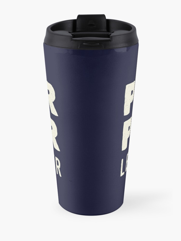 Alternate view of Pitter Patter - Let's Get At'er Cream Edition  Travel Mug