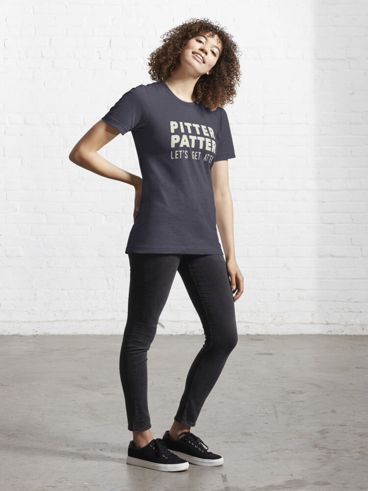 Alternate view of Pitter Patter - Let's Get At'er Cream Edition  Essential T-Shirt