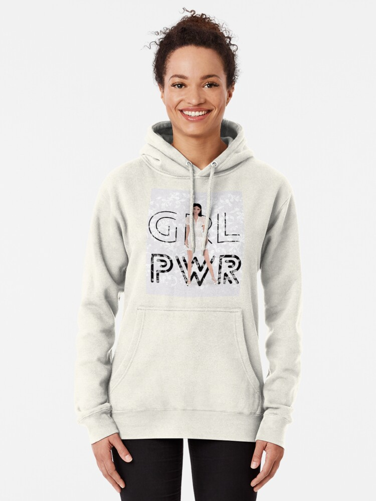 Alternate view of Girl Power Pullover Hoodie
