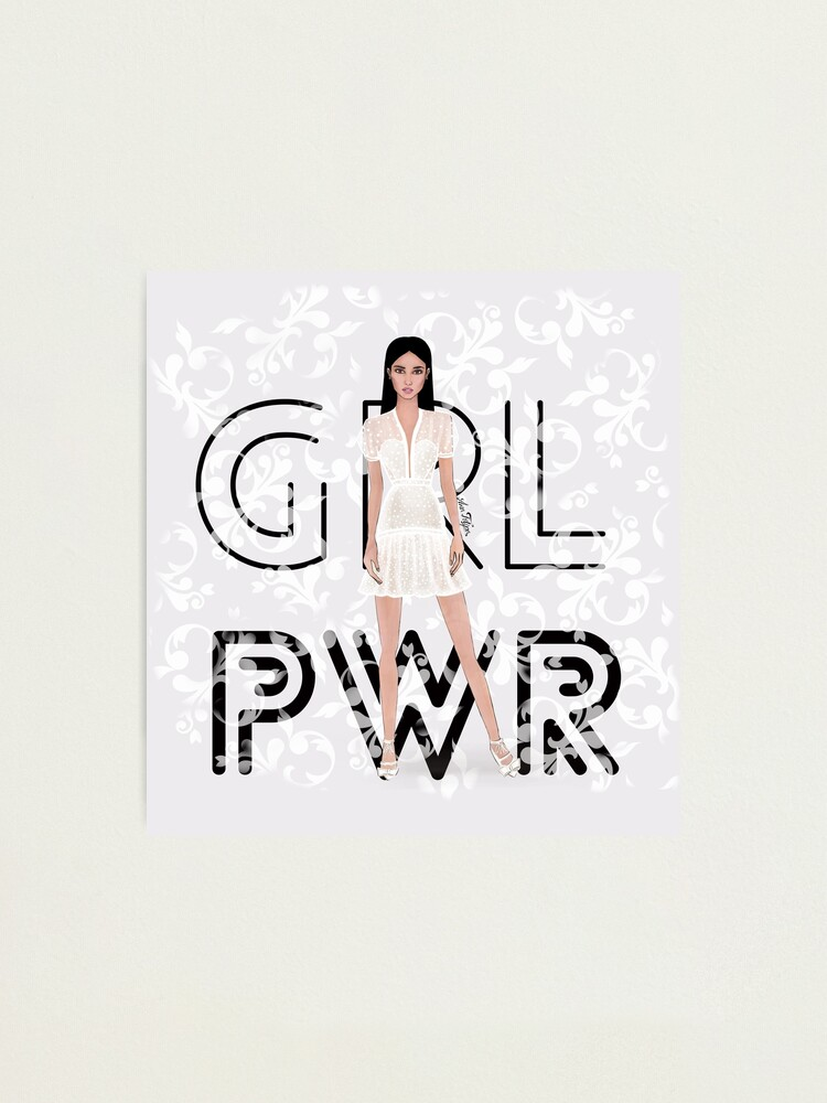 Alternate view of Girl Power Photographic Print