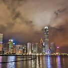 Hongkong fro the pier by SteveHphotos