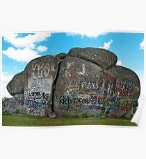 Thunderbolts Rock, Uralla, NSW Poster