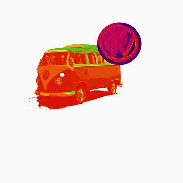 VW camper by GavinCraig