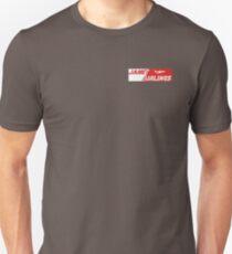 Camiseta unisex Janet AirLines, Area 51 transportes