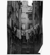 Desolate Streets of Venice  Poster