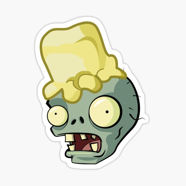 Buttered Zombie Sticker