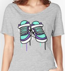 Air Force Ones - Purple and All Women's Relaxed Fit T-Shirt