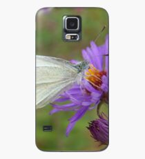 Pieris Rapae aka Small Cabbage White Butterfly Case/Skin for Samsung Galaxy