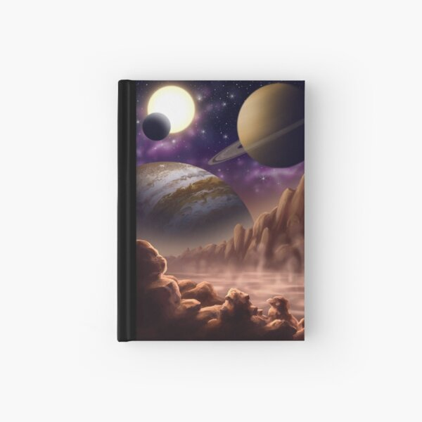 The Planets Hardcover Journal