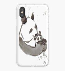 Panda Sumi-e  iPhone Case/Skin