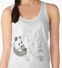 Panda Sumi-e  Women's Tank Top