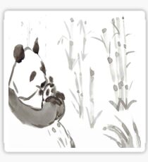 Panda Sumi-e  Sticker