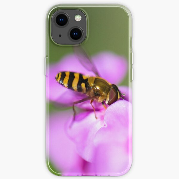 Hoverfly  Macro   iPhone Soft Case