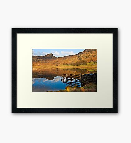 The Fence - Blea Tarn Framed Print