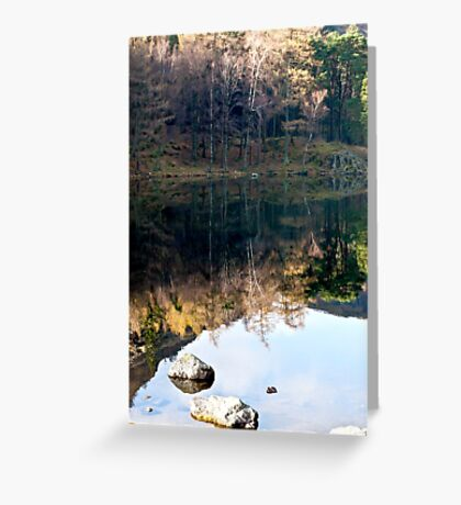 Reflections at Blea Tarn Greeting Card