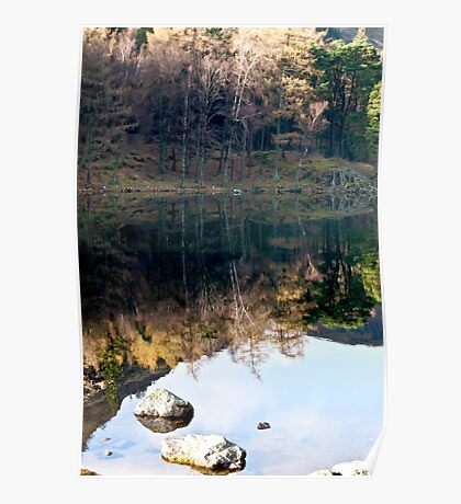 Reflections at Blea Tarn Poster