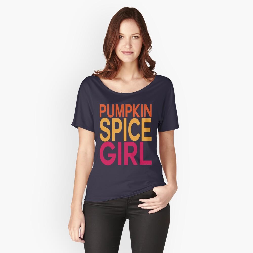 Pumpkin Spice Girl Relaxed Fit T-Shirt