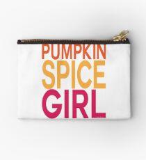 Pumpkin Spice Girl Zipper Pouch