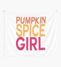Pumpkin Spice Girl Wall Tapestry