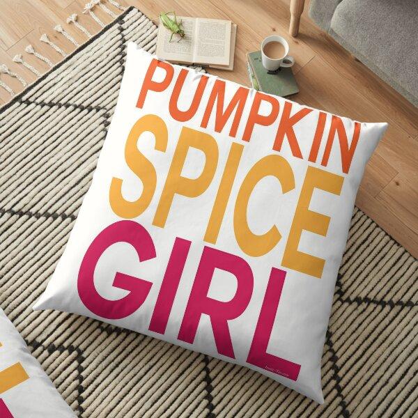Pumpkin Spice Girl Floor Pillow