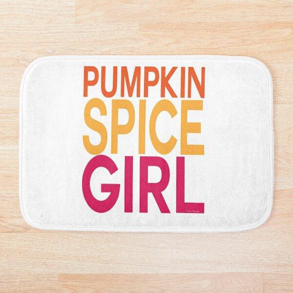Pumpkin Spice Girl Bath Mat