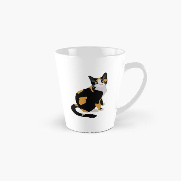 Calico Portrait, Cute Calico Cat, Calico Cat Lover  Tall Mug