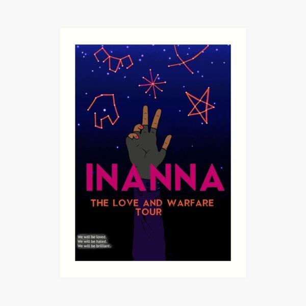 Inanna: Love And Warfare Print Art Print