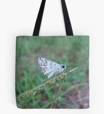 Spring Azure butterfly with an ant Tote Bag