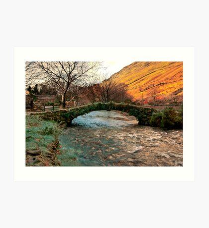 Packhorse Bridge - Wasdale Head Art Print