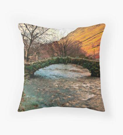 Packhorse Bridge - Wasdale Head Throw Pillow