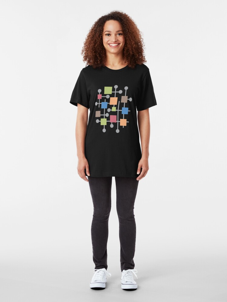 Alternate view of Retro Abstract Slim Fit T-Shirt