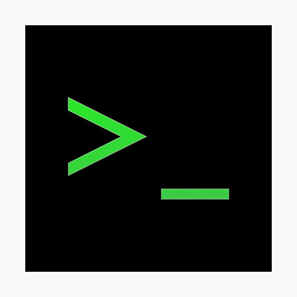 Command Prompt Photographic Print