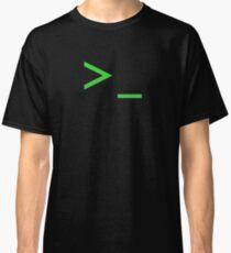 Camiseta clásica Símbolo del sistema