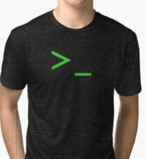 Command Prompt Tri-blend T-Shirt