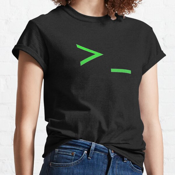 Command Prompt Classic T-Shirt