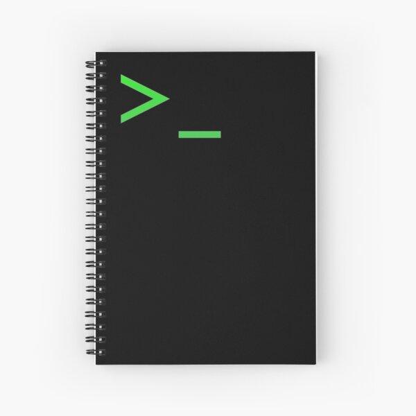 Símbolo del sistema Cuaderno de espiral
