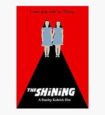the Shining minimalist  Photographic Print