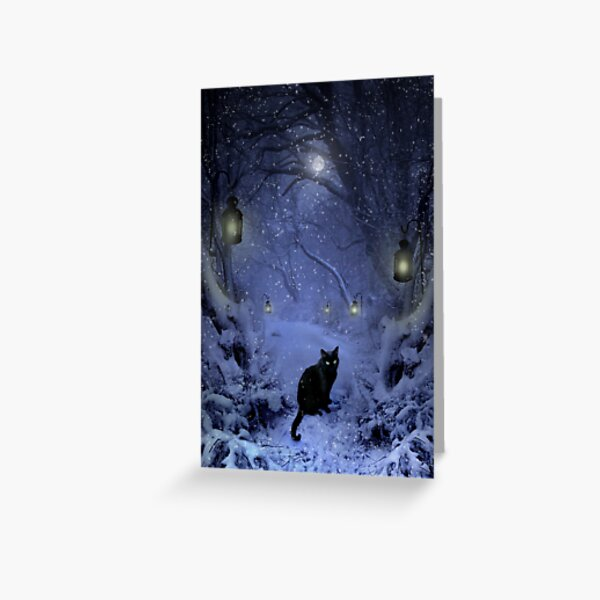 Frostar Midnight Greeting Card