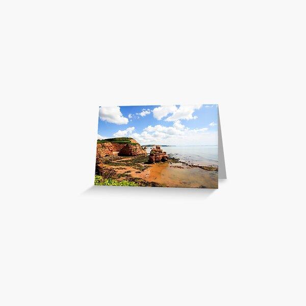Ladram Bay Greeting Card