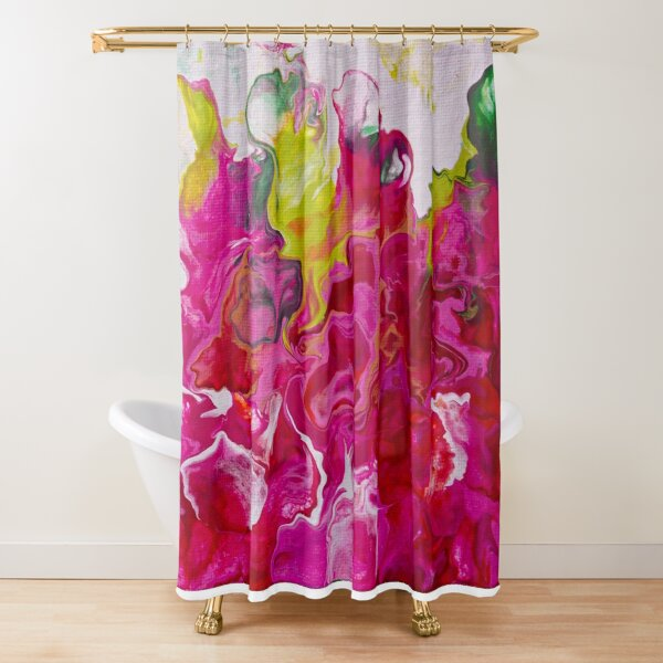 Inviting Iris Shower Curtain