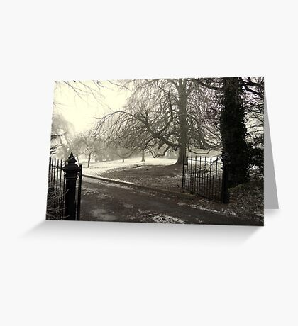 Home town View Greeting Card