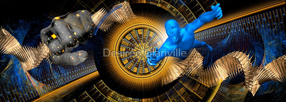 Welcome to the Machine by Desirée Glanville